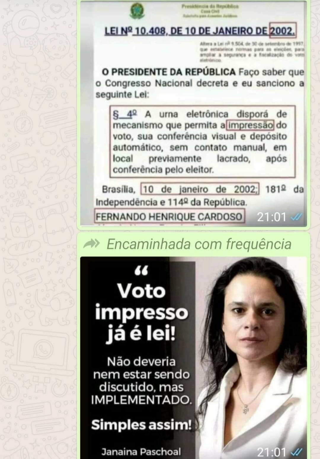 voto impresso no Brasil