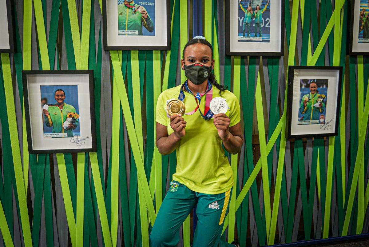 Olimpíadas, Rebeca Andrade e a medalha da superação