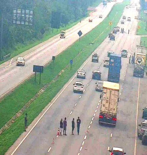 manifestação caminhoneiros
